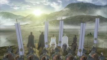 The Heroic Legend of Arslan: Season 1: The Night Before the Attack