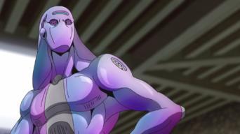 JoJo's Bizarre Adventure: Golden Wind: Mirror Man and Purple Smoke
