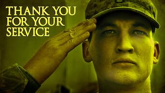 Gracias por tu servicio