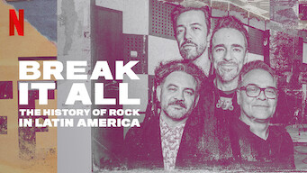 BREAK IT ALL: The History of Rock in Latin America: Limited Series