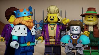 Nexo Knights: Season 1: The Knights' Code