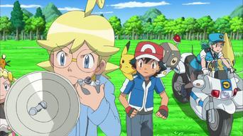 Pokémon The Series: XY: XY: ¡Atrapa al contrabandista Pokémon!