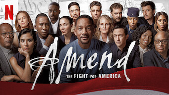Amend: The Fight for America: Limited Series