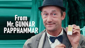 From Mr. Gunnar Papphammar