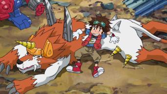 Digimon Fusion: Season 1: An Bord des Schreckenszuges