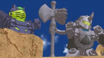 Tenkai Knights: Die Tenkai Ritter: Season 1: Titan Modus Extrem