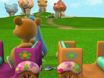 Cuddlies: Season 1: Der Zug / Uh-ohs Blumen / Tickles möchte groß sein
